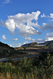 Spain, Andalusia, Zahara de la Sierra Stock Image