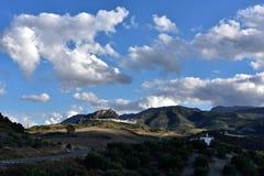 Spain, Andalusia, Zahara de la Sierra Stock Photography