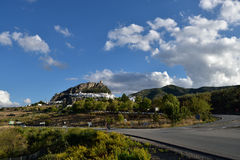 Spain, Andalusia, Zahara de la Sierra Royalty Free Stock Photography