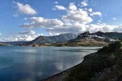 Spain, Andalusia, Zahara de la Sierra Royalty Free Stock Images