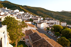 SPAIN, ANDALUSIA ZAHARA: Royalty Free Stock Photography