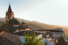 SPAIN, ANDALUSIA ZAHARA Stock Image