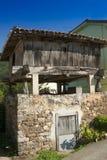 Spain, Asturias, Cornellana, horreo - traditional barn Royalty Free Stock Photos