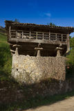 Spain, Asturias, Cornellana, horreo - traditional barn Royalty Free Stock Image