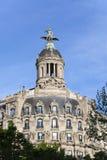 spain Barcelona Construção antiga em Passagem de Gracia imagens de stock