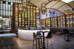 Interior El Nacional restaurant on Passeig de Gracia street