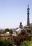 Spain. Barcelona. Park Guell. Royalty Free Stock Photos