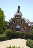 Spain. Barcelona. Park Guell. Royalty Free Stock Photo