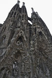 Spain, Barcelona, Sagrada Familia - May-04,2013 stock images