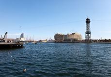 Spain. Barcelona.  seaport Stock Images