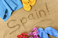 Spain beach  Stock Photos
