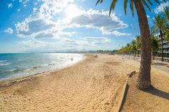 Spain Beach Royalty Free Stock Photos