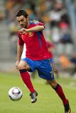 Spain - Belarus (UEFA Under21) Stock Images