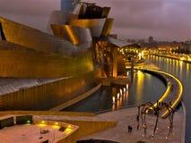 Spain, Bilbao Guggenheim museum royalty free stock photo