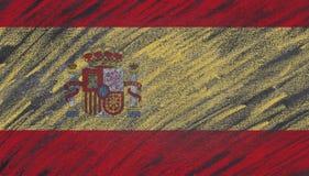 Spain blackboard. Stock Photos