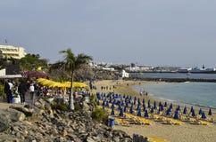 Spain_Canary海岛 免版税库存照片