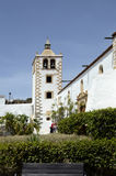 Spain, Canary Island. Fuerteventura, church Santa Maria de Betancuria royalty free stock photos