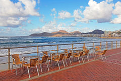 Spain. Canary Islands. Gran Canaria island. Las Palmas de Gran C Royalty Free Stock Images