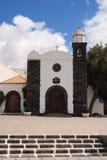 Spain, Canary Islands, Lanzarote, chapel. Stock Photos
