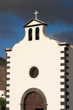 Spain, Canary Islands, Lanzarote, chapel. Royalty Free Stock Images