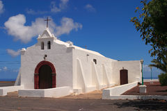 Spain, Canary Islands, Lanzarote, chapel. Royalty Free Stock Photography