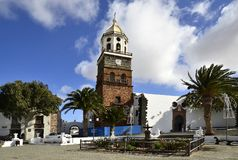 Spain, Canary Islands, Lanzarote Island, Teguise royalty free stock photography