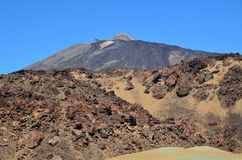 Spain, Canary islands, National Park of Teide,volcanism Stock Photography