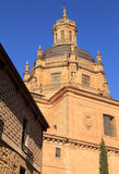 Spain, Castilla y Leon, Salamanca. Historical centre. Spain, Castilla y Leon, Salamanca. Detail of Renaissance cupola. The ancient university city is a UNESCO royalty free stock image