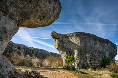 Spain, Castille La Mancha, Cuenca province, Serrano de Cuenca, C Royalty Free Stock Photos