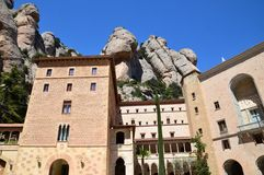Spain, Catalonia, Abbey of Montserrat Stock Images