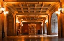 spain catalonia Inre av kyrkan av Montserrat Abbotskloster är Royaltyfria Bilder