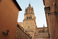 Spain. Cathedral of Salamanca. Stock Photo