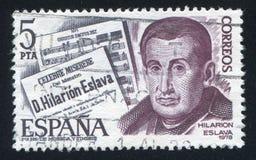 Hilarion Eslava. SPAIN - CIRCA 1978: stamp printed by Spain, shows Hilarion Eslava, circa 1978 stock photo