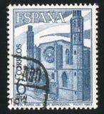 Santa Maria del Mar. SPAIN - CIRCA 1983: stamp printed by Spain, shows Santa Maria del Mar, circa 1983 Royalty Free Stock Image