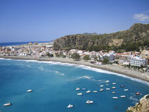 Spain coast. Beach in Costa Tropical, Spain Stock Photo