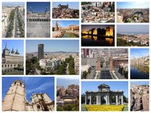 Spain collage Royalty Free Stock Photography