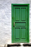 Spain    colorated green wood as a Royalty Free Stock Photo