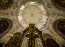 Spain, Cordoba, cathedral, interior Stock Images