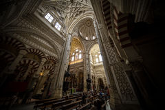 Spain Cordoba Cathedral Mosque Royalty Free Stock Photo