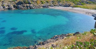 Spain Costa Brava cove Royalty Free Stock Photography