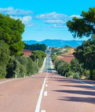 Spain country road Royalty Free Stock Photos