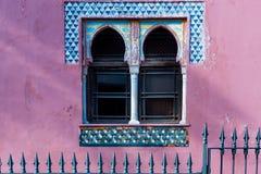 Spain. Door detail of the Mansion of La Najarra in Almuñecar in Granada royalty free stock image