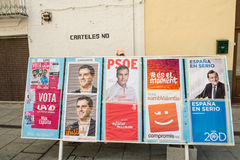 Spain 2015 elections Stock Photography