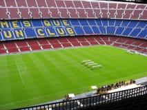 spain för barcelona lägernou stadion Arkivfoton