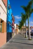 spain för puerto för cruzde-la gammal gata royaltyfria bilder