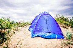 spain för strandkanariefågelfuerteventura ö tent Arkivfoton