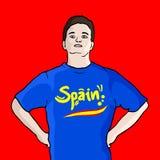 Spain fashion boy Royalty Free Stock Photos