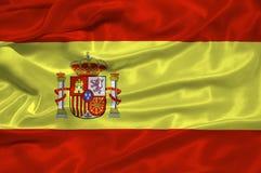 Spain Flag 3 stock illustration