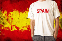 Spain flag Royalty Free Stock Images