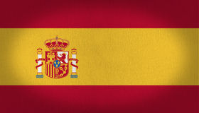 Spain flag Royalty Free Stock Image